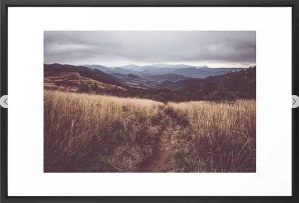 Bieszczady Mountains - Landscape and Nature Photography Framed Art Print - Society6