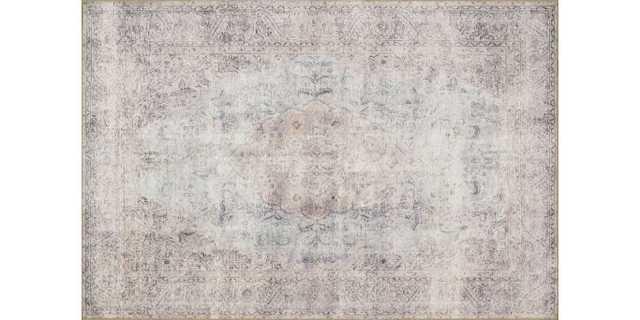 "LQ-04 SILVER / SLATE - 5' x 7'6"" - Loma Threads"