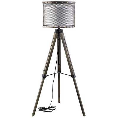 FORTUNE FLOOR LAMP IN ANTIQUE SILVER - Modway Furniture