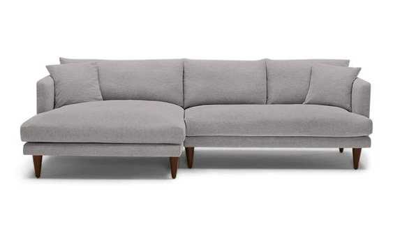 Lewis Sectional - Left Facing - Taylor Felt Grey - Joybird