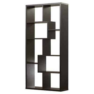 Ervin Geometric Bookcase - Wayfair