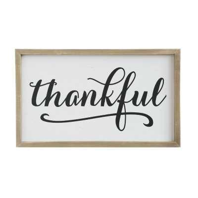 """""""Thankful"""" Wall Décor - Wayfair"""