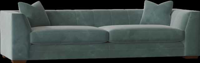 "93"" Square Arm Sofa - Perigold"