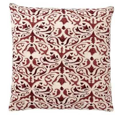 REILLEY EMBROIDERED PILLOW COVERS-Sumac - Pottery Barn