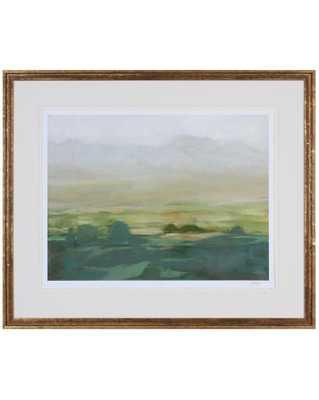 VALLEY MIST 1 Framed Art - McGee & Co.