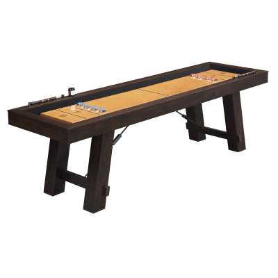 Asher 9' Shuffleboard Table - Wayfair