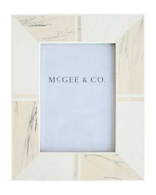 "MARBLE TILED FRAME - 5"" x 7"" - McGee & Co."