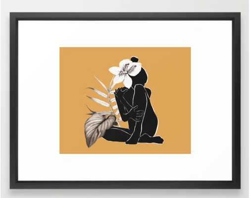 Tropical Nude Framed Art Print - Society6