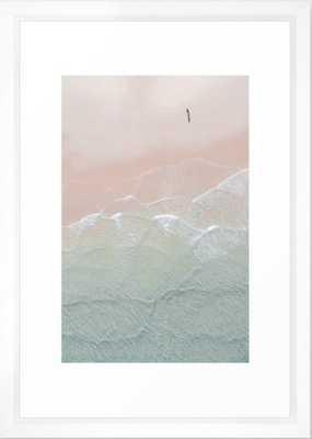 Ocean Walk II Framed Art Print - Society6