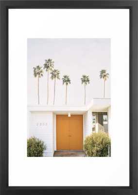 Palm Springs Framed Art Print - Society6