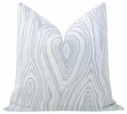 """Agate Linen Print // Cloud - 20"""" X 20"""" - Little Design Company"""