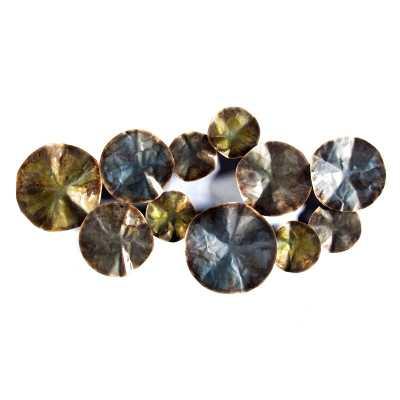 Metal Petals Wall Décor - Wayfair