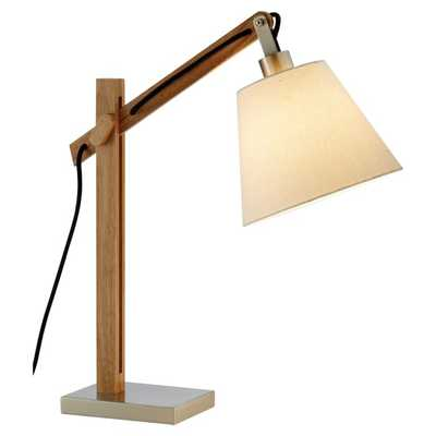 """Josh 25"""" Natural Desk Lamp - Wayfair"""
