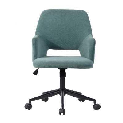 Schnabel Velvet Task Chair - Wayfair