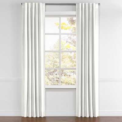 "Back Tab Drapery Pair Classic Linen - Cloud 103"" - Loom Decor"