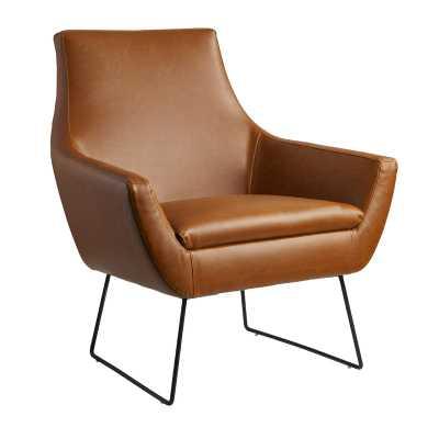 Mercury Row Rickman Armchair in Carmel Brown - AllModern
