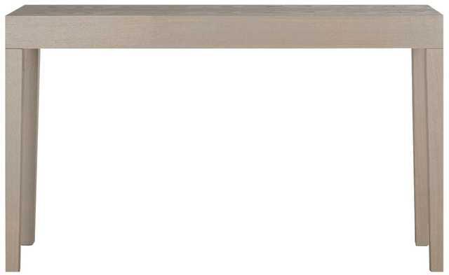 KAYSON MID CENTURY SCANDINAVIAN LACQUER CONSOLE TABLE - Arlo Home