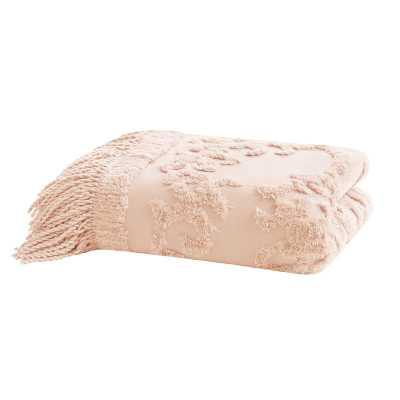 Veras Tufted Cotton Throw - Wayfair