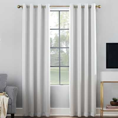 Oslo Max Blackout Home Theater Grade Solid Blackout Thermal Single Curtain Panel - Wayfair