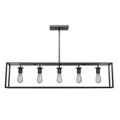 Raeann 5-Light Kitchen Island Linear Pendant - AllModern