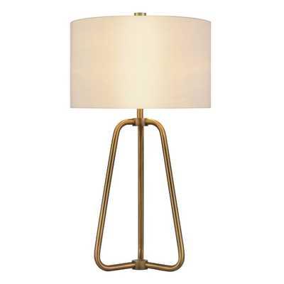 "Eric 26"" Table Lamp, Antique Brass finish - Wayfair"