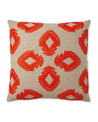 Leighton Pillow Cover - Serena and Lily