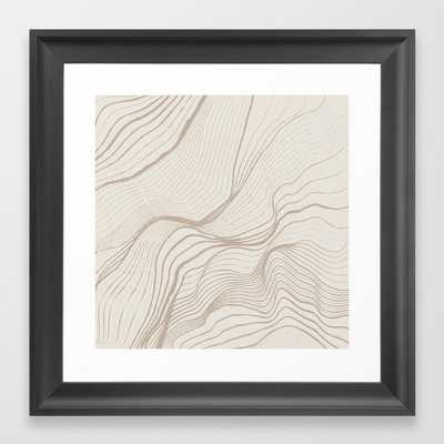 Canyon Lines II - Scoop Black - Society6