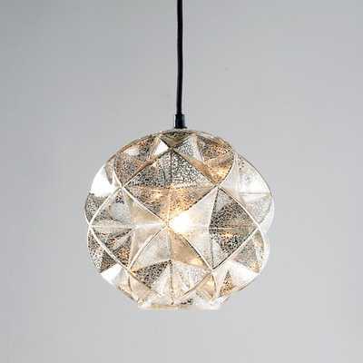 MERCURY GLASS GEODESIC DOME PENDANT LIGHT - Shades of Light