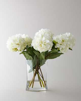 Heavenly Peonies Faux Floral Arrangement - Horchow