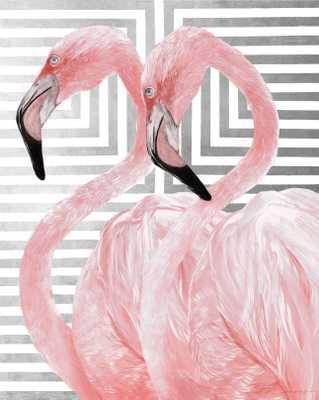 Double Take III (Blush w/Silver Gild) - High Fashion Home