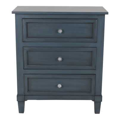 Swanage 3 Drawer Nightstand - Wayfair