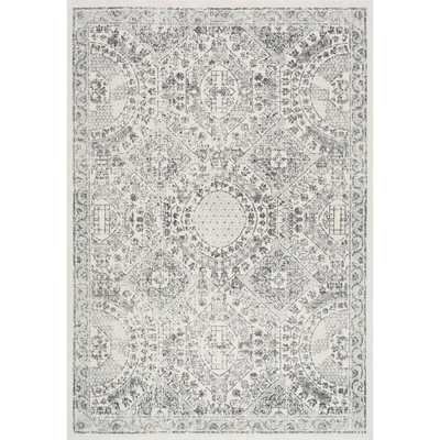 Vintage Minta Grey 7 ft. x 9 ft. Area Rug - Home Depot