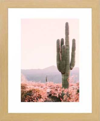"""Vintage Cactus - 10"""" x 12"""" - conservation natural - Society6"""