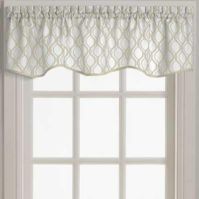 """Navarro Scallop 58"""" Window Valance - Wayfair"""