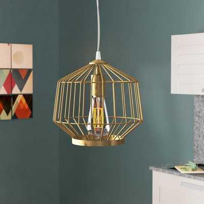 Conduit Avenue Swag 1-Light Geometric Pendant - Wayfair