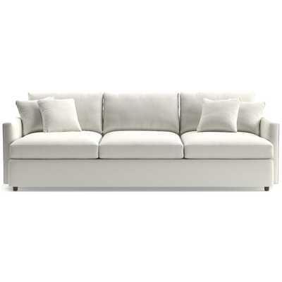 "Lounge II Petite 3-Seat 105"" Grande Sofa - Nordic Frost - Crate and Barrel"