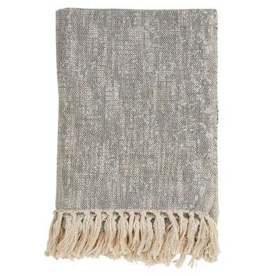 Bittle Tasseled Cotton Throw - Wayfair