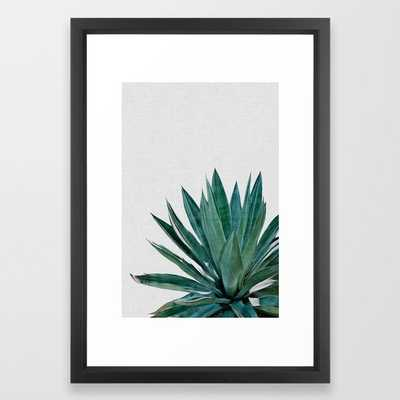 Agave Cactus - Vector Black - Society6