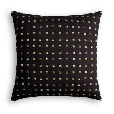 Stud Muffin - Black Pillow 18x18, Poly fiber insert - Loom Decor