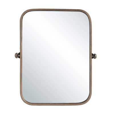 CURVED CORNER COPPER MIRROR - Shades of Light