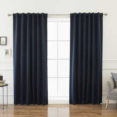 Sweetwater Blackout Solid Thermal Curtain Panels - AllModern