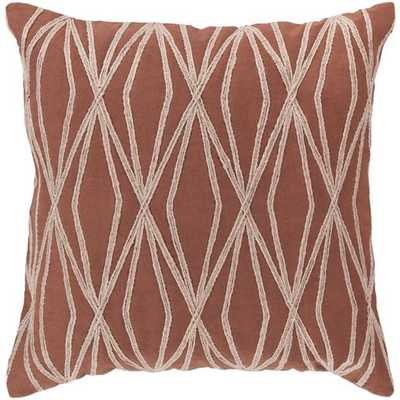 Dominican Pillow w/ poly insert - 18x18 - Neva Home