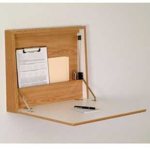 Sanner Fold-Away Floating Desk - Wayfair