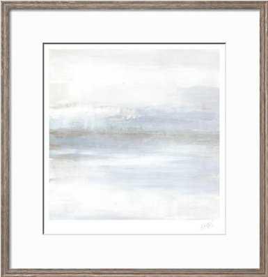 """Cape Horizon I /34"""" x 35"""" /  Lancaster Gray Frame - art.com"""