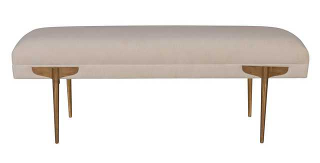 Marcelo Bench, White - Studio Marcette