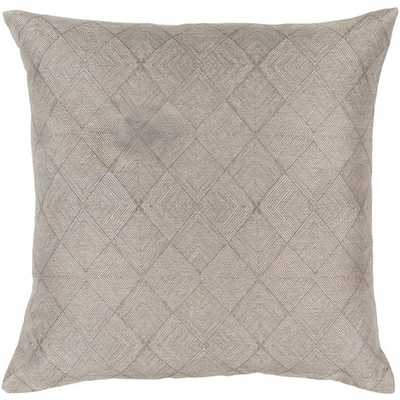 "Messina, 18"" Pillow with Down Insert - Neva Home"