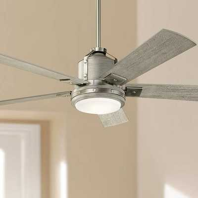 "52"" Kichler Colerne Brushed Nickel LED Ceiling Fan - Style # 63R86 - Lamps Plus"