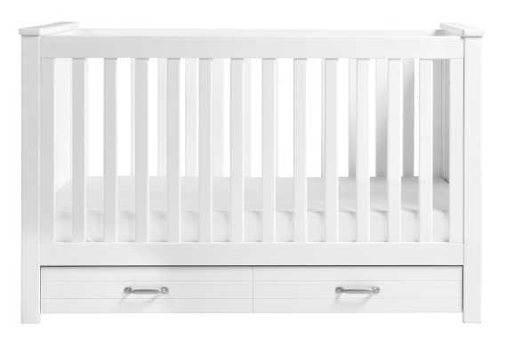 DaVinci Asher 3 in 1 Convertible Crib with Storage - White - Wayfair