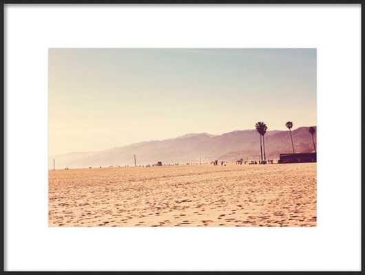 "Vintage Santa Monica - 24 x 18"" - Artfully Walls"