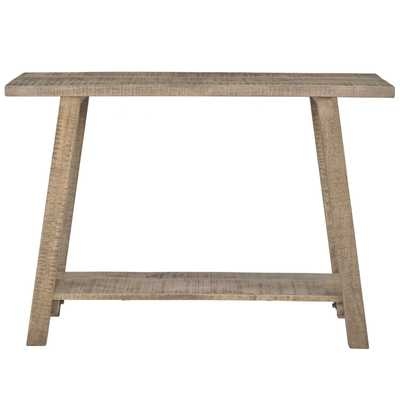 Solid Reclaimed Wood Console Table - Hayneedle